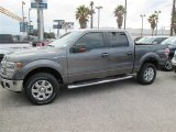 2014 Sterling Grey Ford F150 XLT SuperCrew 4x4 #91092026