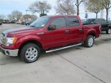 2014 Ruby Red Ford F150 XLT SuperCrew #91092024