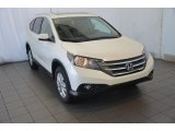 2014 White Diamond Pearl Honda CR-V EX-L #91091957