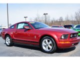 2007 Torch Red Ford Mustang V6 Premium Coupe #91092180