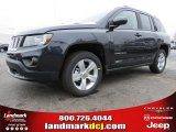 2014 Maximum Steel Metallic Jeep Compass Latitude #91092156