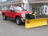 2014 Ford F350 Super Duty XL Regular Cab 4x4 Plow Truck Data, Info and Specs