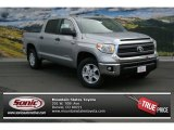 2014 Silver Sky Metallic Toyota Tundra SR5 Crewmax 4x4 #91091928