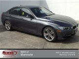 2014 Mineral Grey Metallic BMW 3 Series 328i Sedan #91092323