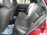 2009 Ford Crown Victoria Police Interceptor Rear Seat