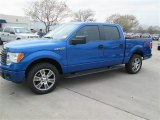 2014 Blue Flame Ford F150 STX SuperCrew #91129240