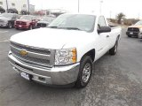 2012 Summit White Chevrolet Silverado 1500 LT Regular Cab 4x4 #91129297