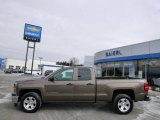 2014 Brownstone Metallic Chevrolet Silverado 1500 LT Double Cab 4x4 #91129778