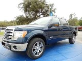 2014 Blue Jeans Ford F150 Lariat SuperCrew #91129327