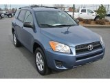Pacific Blue Metallic Toyota RAV4 in 2011