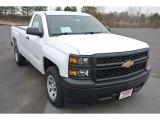 2014 Summit White Chevrolet Silverado 1500 WT Regular Cab #91172333