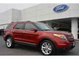 2014 Ruby Red Ford Explorer Limited #91172117