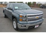 2014 Blue Granite Metallic Chevrolet Silverado 1500 LT Crew Cab #91172328
