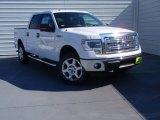 2014 Oxford White Ford F150 XLT SuperCrew 4x4 #91172231
