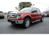 2014 Ruby Red Ford F150 XLT SuperCrew 4x4 #91172300