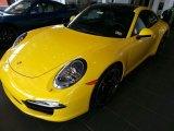 2014 Porsche 911 Racing Yellow