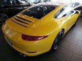2014 Porsche 911 Racing Yellow