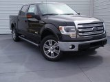 2014 Tuxedo Black Ford F150 Lariat SuperCrew 4x4 #91214236