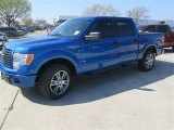 2014 Blue Flame Ford F150 STX SuperCrew #91214024