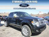 2014 Tuxedo Black Ford F150 Platinum SuperCrew 4x4 #91214114