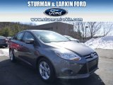 2014 Sterling Gray Ford Focus SE Sedan #91214107