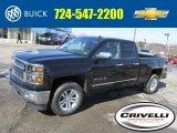 2014 Black Chevrolet Silverado 1500 LTZ Double Cab 4x4 #91214388