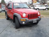 2002 Flame Red Jeep Liberty Sport 4x4 #91214560