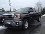 2014 Iridium Metallic GMC Sierra 1500 SLE Double Cab 4x4 #91213907