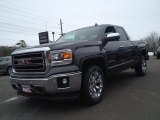 2014 Iridium Metallic GMC Sierra 1500 SLT Double Cab 4x4 #91213906
