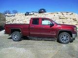 2014 Sonoma Red Metallic GMC Sierra 1500 SLT Double Cab 4x4 #91214535