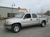 2005 Chevrolet Silverado 1500 LS Crew Cab 4x4 Data, Info and Specs