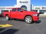 2014 Flame Red Ram 1500 Express Crew Cab 4x4 #91286029