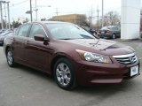 2011 Basque Red Pearl Honda Accord LX-P Sedan #91286300