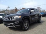2014 Black Forest Green Pearl Jeep Grand Cherokee Limited 4x4 #91285803