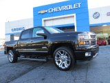 2014 Black Chevrolet Silverado 1500 High Country Crew Cab 4x4 #91286085