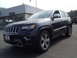 2014 Maximum Steel Metallic Jeep Grand Cherokee Overland 4x4 #91285800