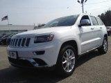 2014 Bright White Jeep Grand Cherokee Summit 4x4 #91285799