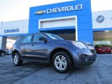 2014 Atlantis Blue Metallic Chevrolet Equinox LS #91286082