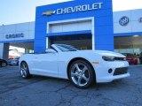 2014 Summit White Chevrolet Camaro LT Convertible #91286080