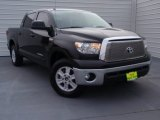 Black Toyota Tundra in 2012