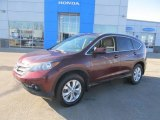 2012 Basque Red Pearl II Honda CR-V EX-L 4WD #91286186