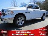 2014 Bright White Ram 1500 Big Horn Crew Cab #91318935