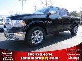 2014 Black Ram 1500 Laramie Crew Cab #91318934