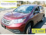 2012 Basque Red Pearl II Honda CR-V LX 4WD #91318849