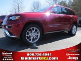 2014 Deep Cherry Red Crystal Pearl Jeep Grand Cherokee Summit 4x4 #91318925