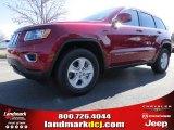 2014 Deep Cherry Red Crystal Pearl Jeep Grand Cherokee Laredo #91318924
