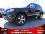 2014 Brilliant Black Crystal Pearl Jeep Grand Cherokee Limited #91318923