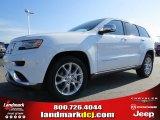2014 Bright White Jeep Grand Cherokee Summit #91318922