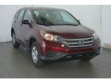 2014 Basque Red Pearl II Honda CR-V LX #91318748