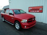 2014 Flame Red Ram 1500 Express Crew Cab 4x4 #91319367